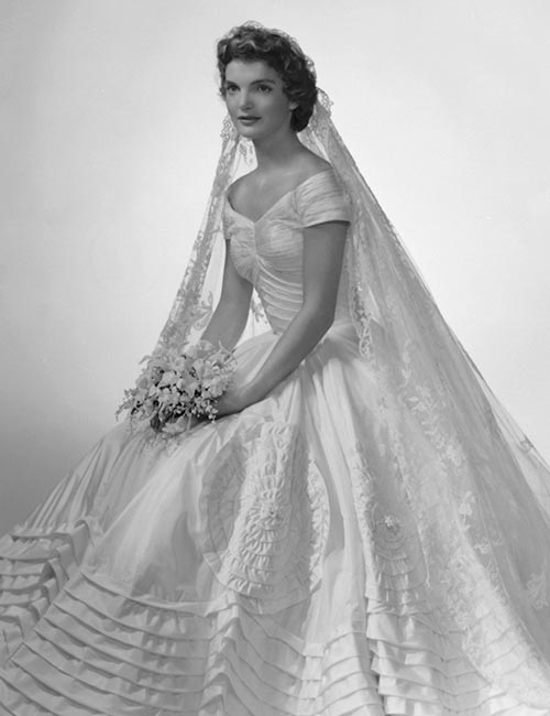 Best Celebrity Wedding Dresses - Jacqueline Kennedy