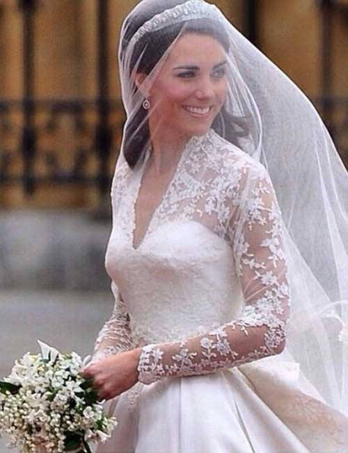 Best Celebrity Wedding Dresses - Kate Middleton