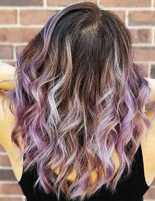Lavender Purple Platinum