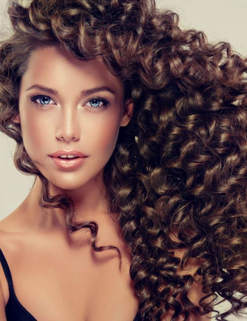 Long Hair With Full Highlights