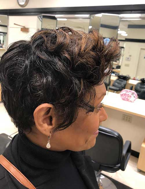 Mohawk Or Puffy Highlights