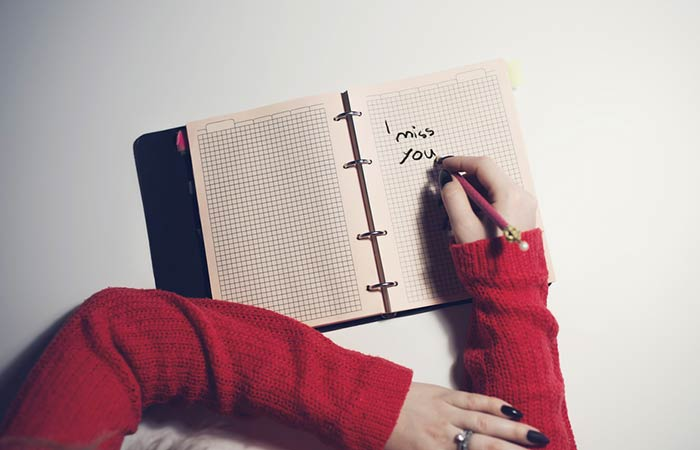 Myth Simply Journaling Your Post-Breakup Thoughts Can Help You Move On
