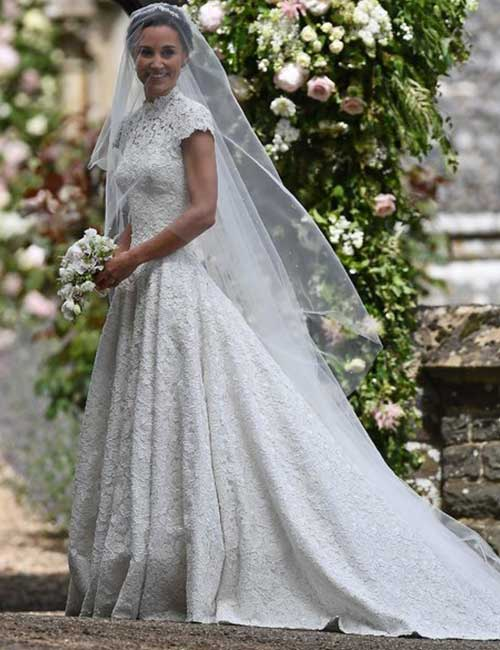Best Celebrity Wedding Dresses - Pippa Middleton