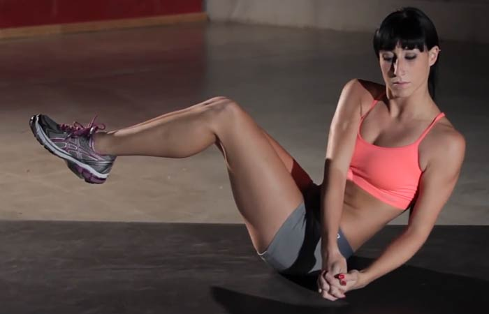 Best Core exercises - Russian Twist