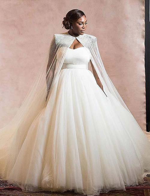 Best Celebrity Wedding Dresses - Serena Williams