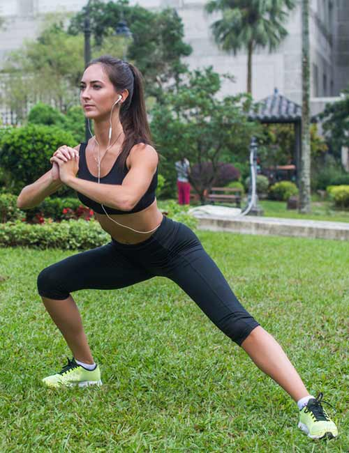 How To Get Curves - Side Lunges