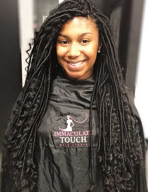 Thin Crochet Senegalese Twists