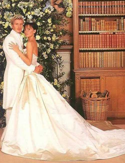 Best Celebrity Wedding Dresses - Victoria Beckham
