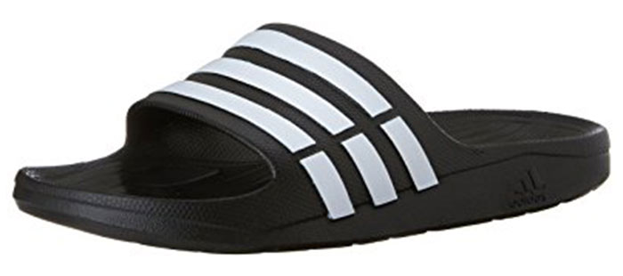 10. Adidas Beach Slip-Ons