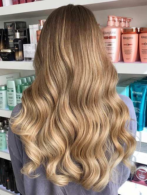 Dirty Blonde Hair Shades - Sassy Warm Dirty Blonde