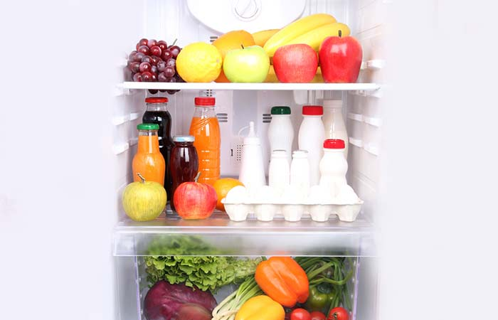 2. Organize Food Evenly