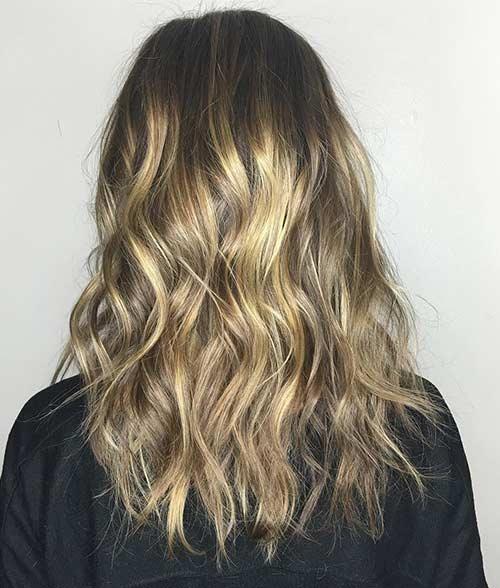Dirty Blonde Hair Shades - Shiny Mochaccino Blend
