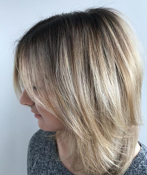 Dirty Blonde Hair Shades - Golden Dirty Blonde