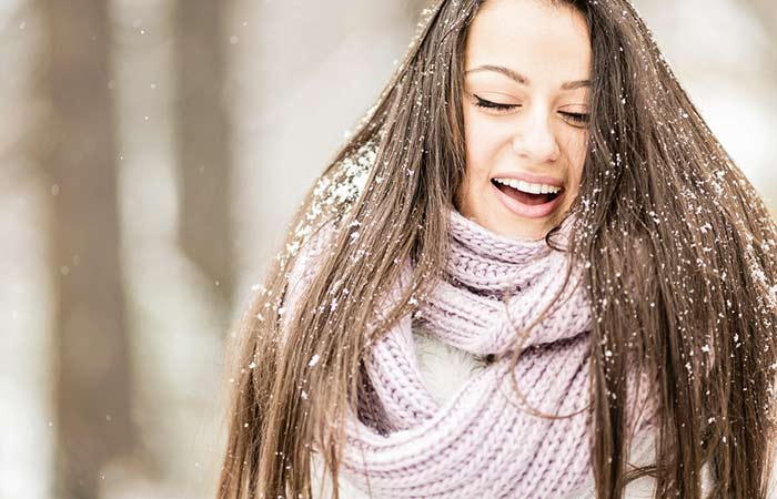 5. Not Covering Your Hair In Cold Weather