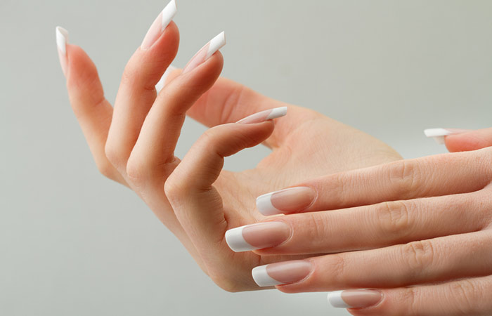 6. The condition of your nails