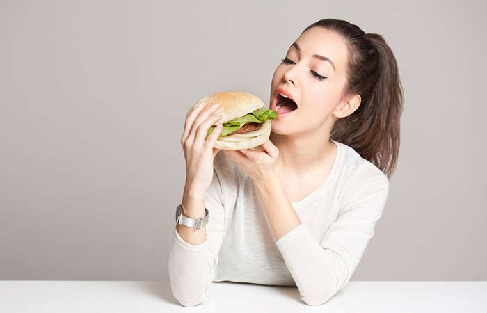 7. Eating Too Much Junk Or Dieting