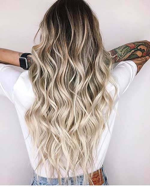 9.Dirty Blonde Ombre