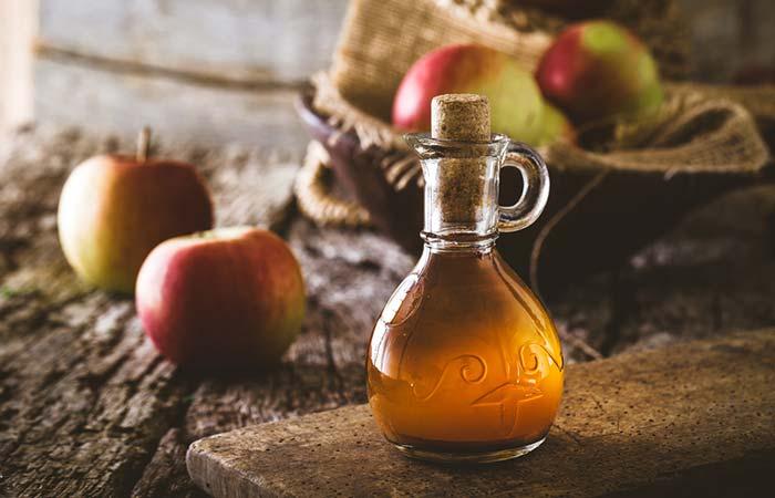 Get Rid Of Shourlder And Back Acne - Apple Cider Vinegar