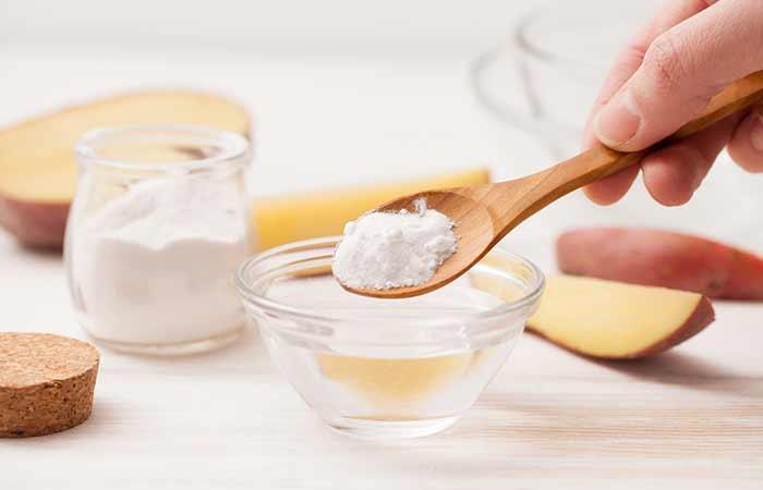 Get Rid Of Shourlder And Back Acne - Baking Soda