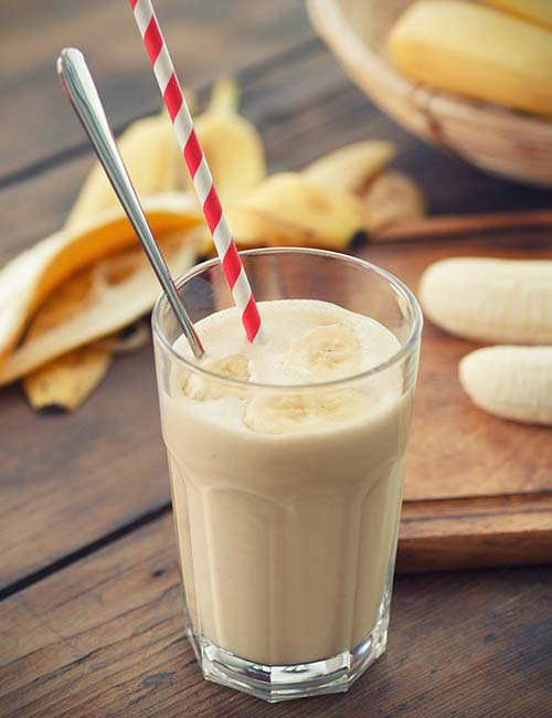 Banana Maple Syrup Smoothie