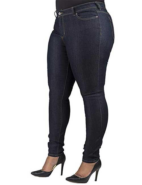 Best Jeans For Plus Size Women