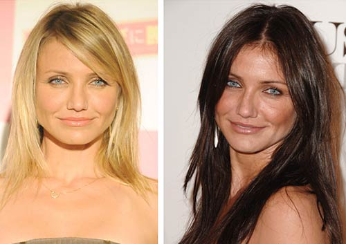 Blonde And Brunette Hair - Cameron Diaz
