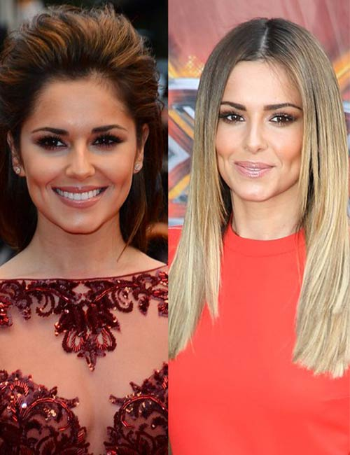 Blonde And Brunette Hair - Cheryl Cole