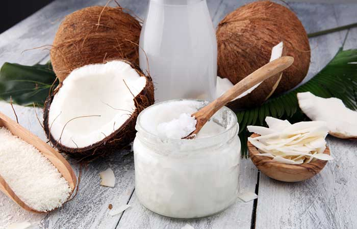 Get Rid Of Shourlder And Back Acne - Coconut Oil