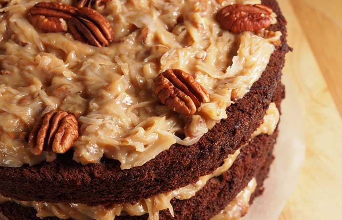 Contrary to popular belief, the German chocolate cake was not dumped in Germany