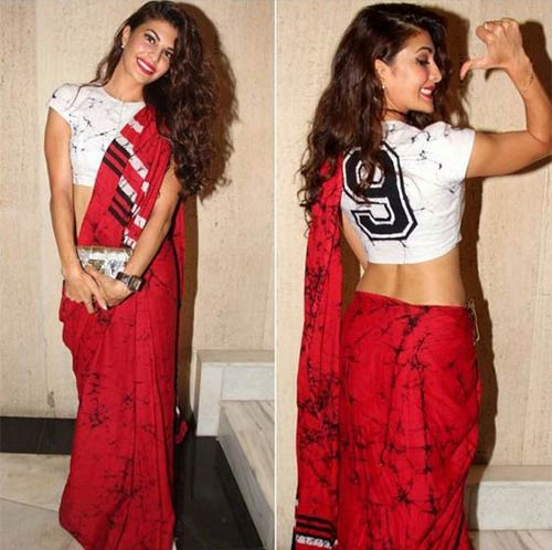 Crop Top Saree