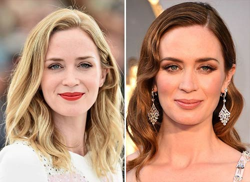 Blonde And Brunette Hair - Emily Blunt