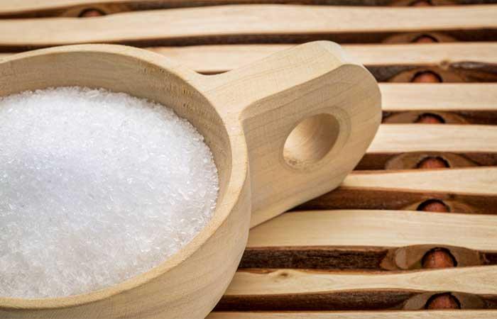 Get Rid Of Shourlder And Back Acne - Epsom Salt