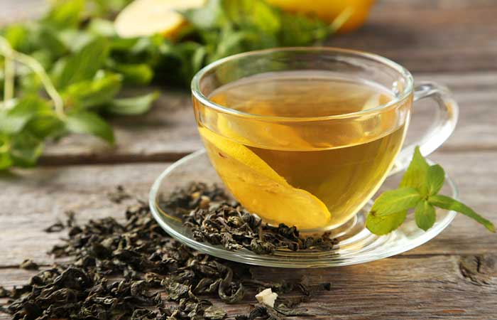 Get Rid Of Shourlder And Back Acne - Green Tea