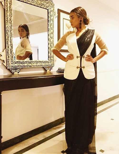 Jacket Saree