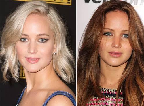 Blonde And Brunette Hair - Jennifer Lawrence