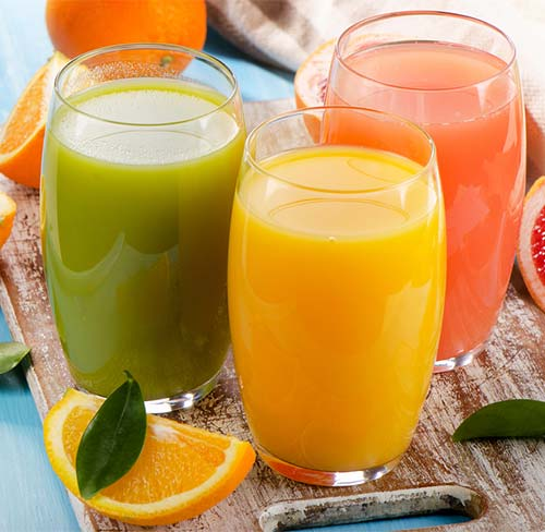 Low-Fiber Fruit Juice