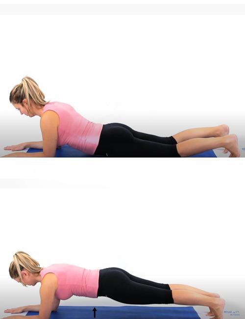 Pilates Full Plank