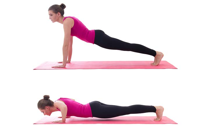 Pushups are a great alternative to this exercise
