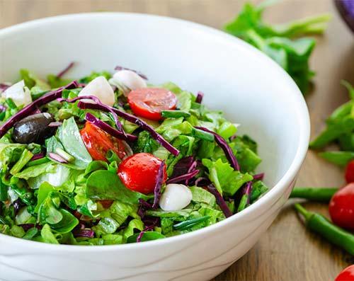 Raw Food Lunch Lettuce Salad