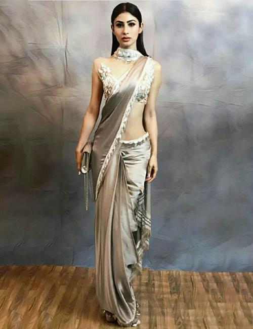 Scarf-Style Saree
