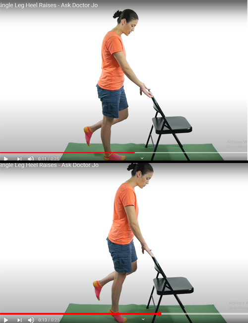 Single Leg Heel Raises