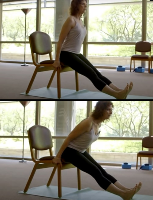 Sitting Calf Stretch