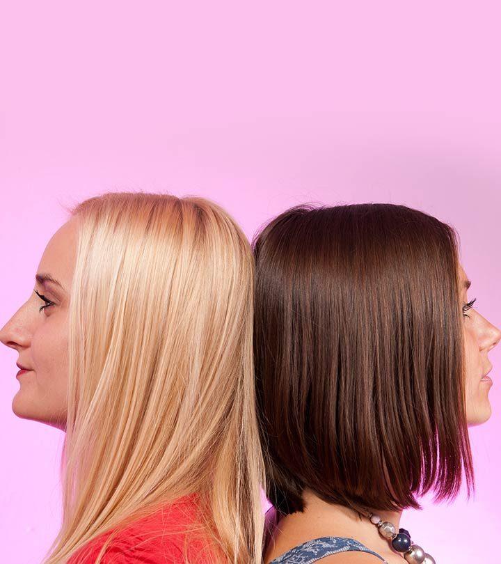 The Real Difference Between Being Blonde And Brunette