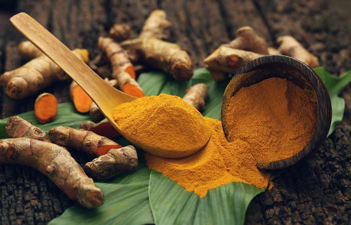 Get Rid Of Shourlder And Back Acne - Turmeric