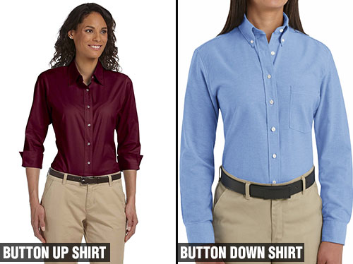 4cc3d54b645 What Is The Difference Between Button Up And Button Down Shirts