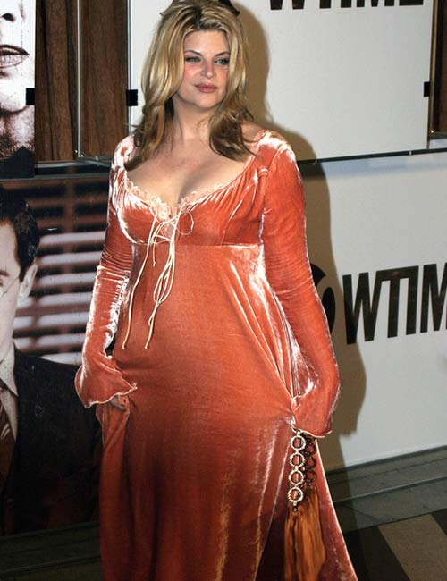 When Did Kirstie Alley Start Gaining Weight