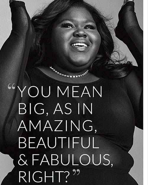 Why Gabourey Sidibe decides to lose weight