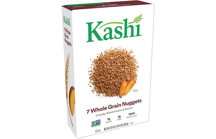 10. Kashi 7 Whole Grain Nuggets