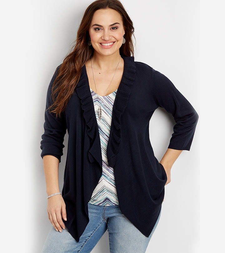 15 Stylish Plus Size Cardigans