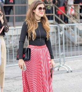 17 Ways To Wear A Pleated Skirt